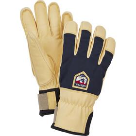 Hestra Sarek Ecocuir 5 Finger Gloves navy